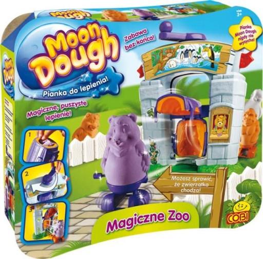 MOON DOUGH 91007 MAGICZNE ZOO PIANKOLINA COBI 24H!