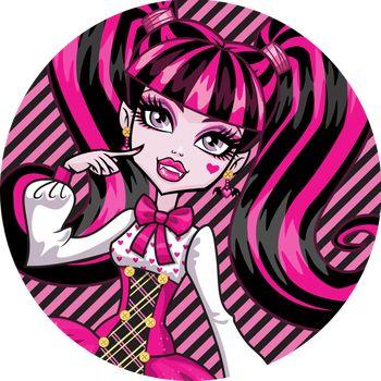 Oplatek Na Tort 20 Cm Monster High Urodziny Party 6757796941 Allegro Pl