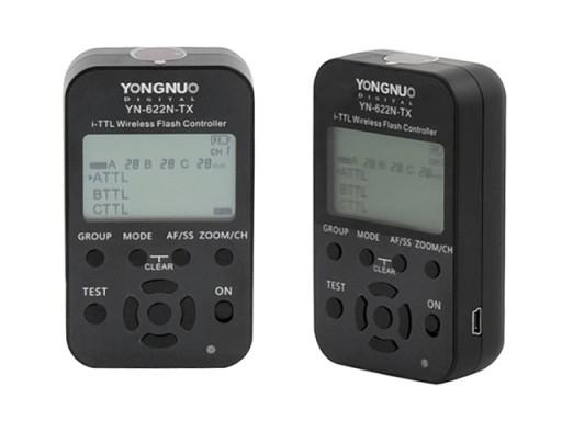 Radiowy wyzwalacz Yongnuo YN-622N-TX LCD iTTL