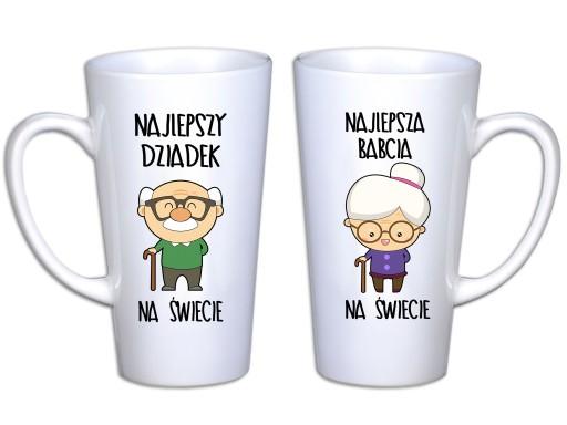 Kubki Latte Na Dzień Babci I Dziadka Prezent 450ml 7225906770