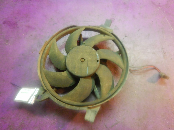 vito w638 2,2 вентилятор радиатора intercoolera