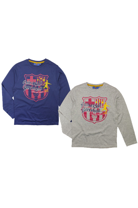FC Barcelona Bluzka długi rękaw FCB 164 bluza 6647999635 Dziecięce Odzież UN NMGXUN-4