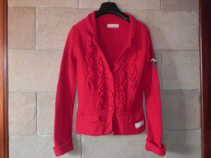 ODD MOLLY śliczny sweterek 34 WOOL 9809535024 Odzież Damska Swetry RQ UVOLRQ-8
